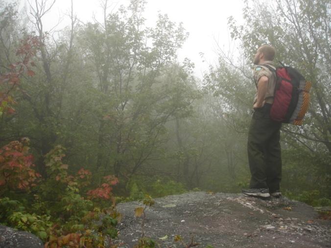 Backcountry ranger work, Catskill Mountains