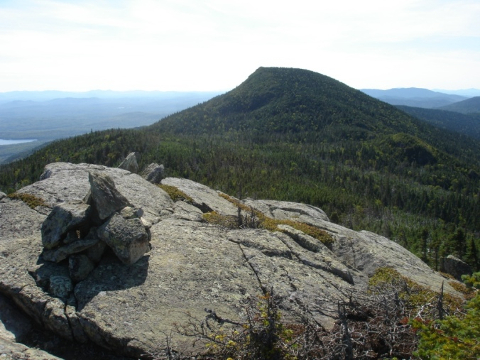 Wandering among the trail-less peaks of Maine