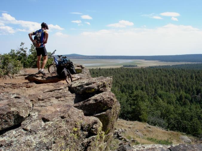 Second trans-U.S. bike ride, somewhere in Arizona